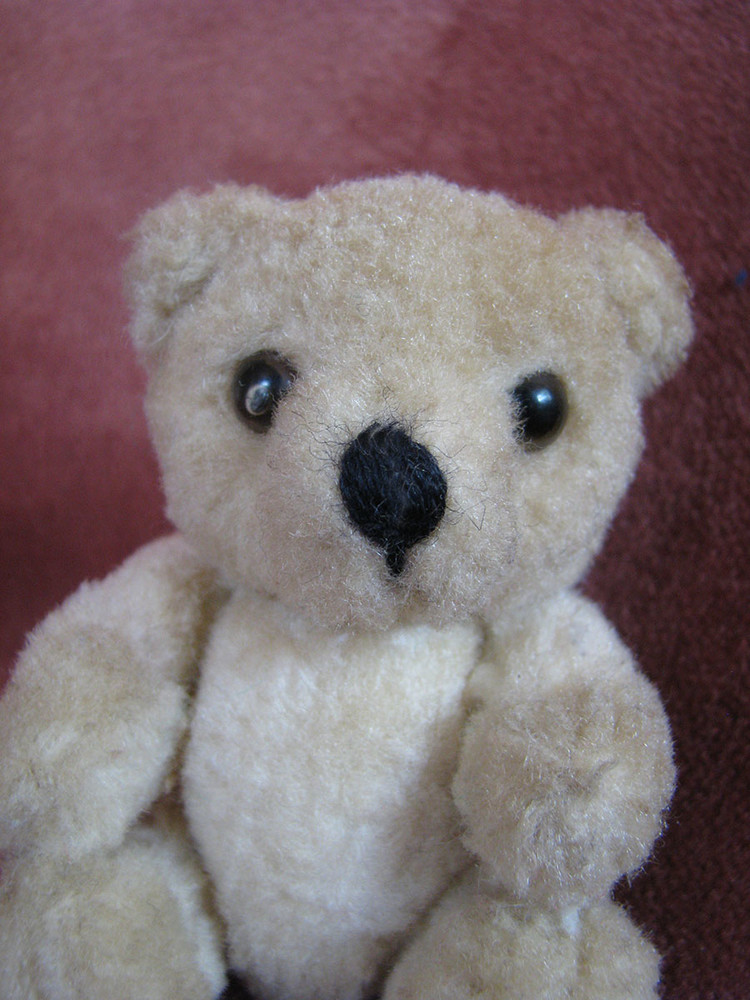 Мишка медведь teddy bear шарнирный крошка 10 см фото №1