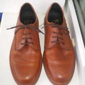Мужские классические  туфли броги Rieker р. 9 ,стелька 28 см