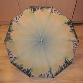 Feeling Rain.Стильный зонт производства Италии. Шикарное качество. полуавтомат.