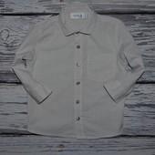 1 - 2 года 92 см Очень модная фирменная рубашка для мальчика Next Некст