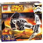 Конструктор 10373 Space Wars звездные войны улучшенный прототип истребителя TIE