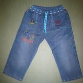 Летние детские джинсовые брюки