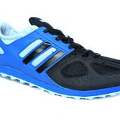 41 и 43 р Мужские удобные кроссовки синие (Адіо-С)