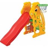 Детская игровая горка Зайчик 137 см (SL-07)