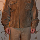 Курточка натуральный замш недорого