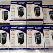 Профессиональный цифровой алкотестер Greenwon АТ-818