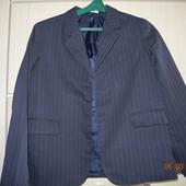 Пиджак школьный для мальчика 134 - 148см