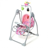 Акция Качели Тилли bt-sc-003 детская музыкальная колыбель кресло качалка шезлонг Tilly
