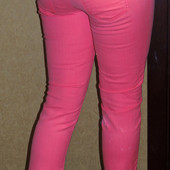 Оodji неоновые летние джинсы