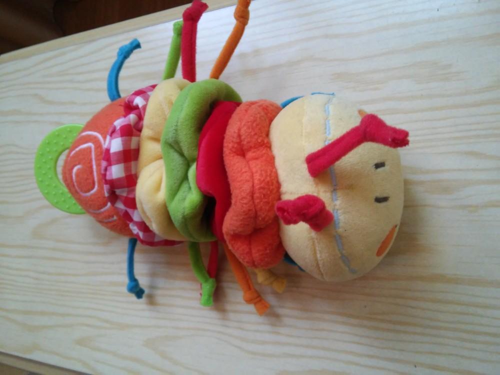 Игрушка развивающая гусеница фото №1