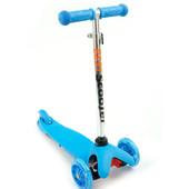 Самокат Скутер Бест 112 с 1,5 до 5 лет трехколесный детский Best Scooter светящимися колесами