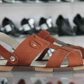 кожаные мужские сандалии- шлепанцы Код: Л-42,43 и 44