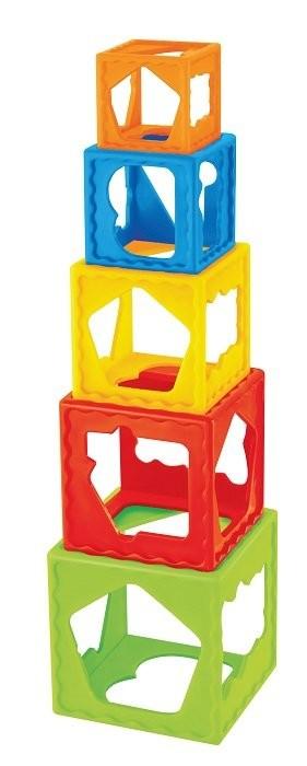 Пирамидка-кубики от bebelinо фото №1