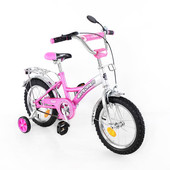 Велосипед Explorer 14 T-21411 pink + silver