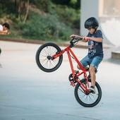 Велосипед bmx wipe 300 дет. B'twin