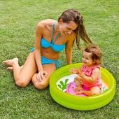Детский надувной бассейн Intex винил 65*15 см