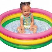 """Детский надувной бассейн""""Красочный"""" Intex 58924"""