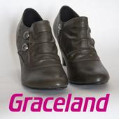 Ботинки женские демисезонные на столбике 41р Graceland Германия