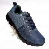 Текстильные летние мужские кроссовки