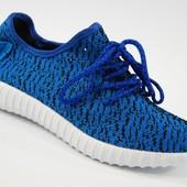 Мужские кроссовки Adidas yezzy boots 350 Navy Man
