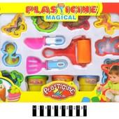Набор для лепки, в коробке, пластилин + формочки, артикул 9159