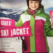 яркая зимняя термо-куртка Crivit Sports. Германия. 146-152