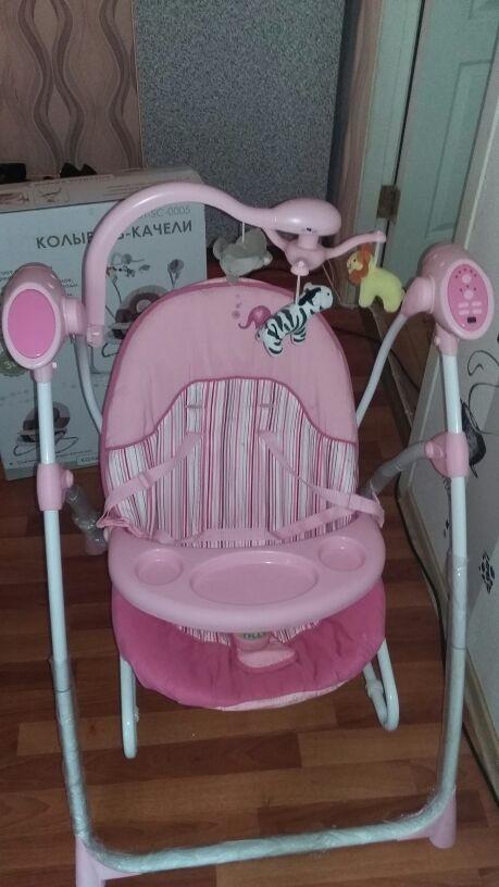 Кресло -качели фото №1