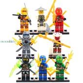 Минифигурки Ниндзяго Ninja  Minifigures, совместимы с оригинальным Lego.