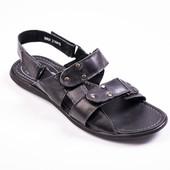 мужские кожаные сандалии,босоножки модель:029