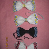 Бабочка - галстук.