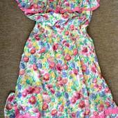 Женские платья весна лето Англия крем. Мешки по 20-30 кг!