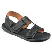 кожаные мужские босоножки,сандалии Код: 124