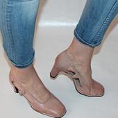 Туфли 39 р КL Германия, кожа полная, оригинал
