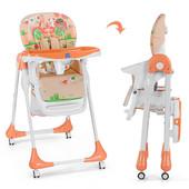 Бемби 3234 стульчик для кормления детский высокий Bambi
