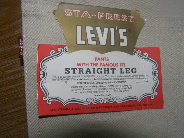 Levis новые бежевые джинсы W27 L34 фото №1