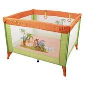 Падение цен! Детский манеж Kids Life Tiger M100 (оранжево-зелёный)