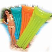 """Пляжный надувной матрас Intex """"Океан цветов"""""""