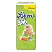 Подгузники детские Libero Everyday Natural 3 Midi (4-9 кг) 46 шт.