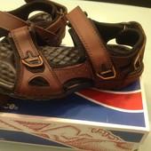 Кожаные сандалии Columbia оригинал  , как новые 38 р 25 см