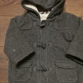 Демисезонное стильное пальто, куртка mothercare 18-24 м.