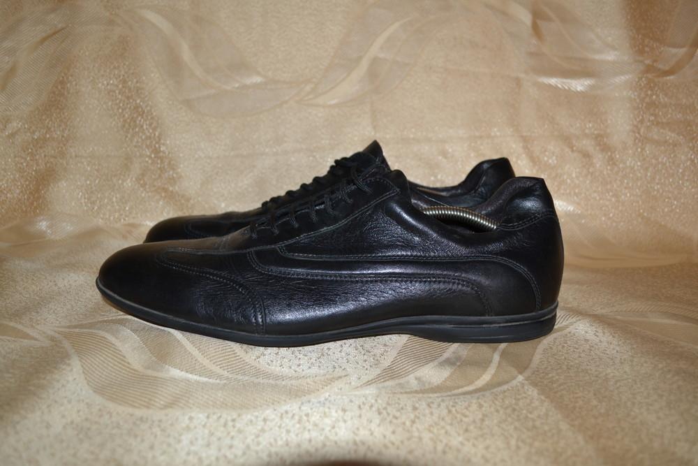кожаные туфли Bata, р. 46 фото №1