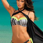 Моднявый купальник бикини с пуш-ап Melisa Разные цвета