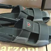 Мужские сандали из натуральной кожи С-10 лето 2016