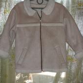Деми куртка-дубленка весна-осень на 5-6 лет