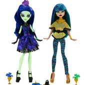 Набор монстер хай Аманита и Нефера monster high nefera de nile amanita nightshade