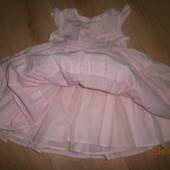Нарядное платьице для принцессы р.74,80 можно на праздник!