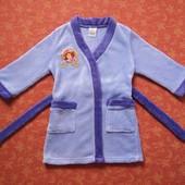 Махровый халат Принцесса София на 2-3 года, б/у. Очень хорошее состояние, без пятен. Длина от плеча