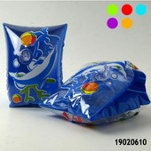 Нарукавники для плавания детские надувные 19*13 разные цвета