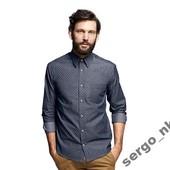 Рубашка с рукавом от Tchibo! ворот 42