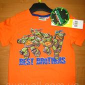 Детская футболка для мальчика Черепашки ниндзя 3-8 лет, Ninja Turtles